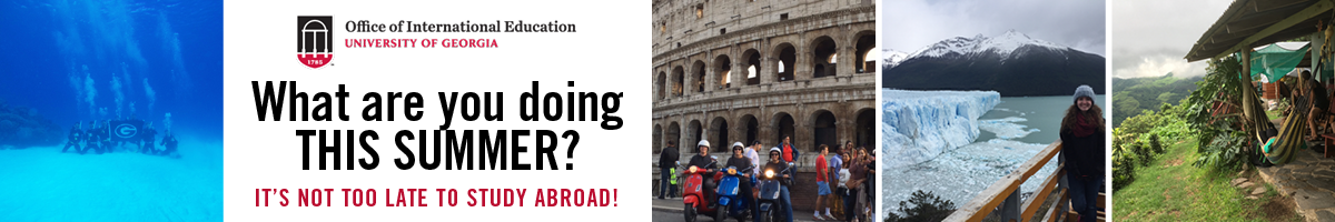 It's Not Too Late to Study Abroad!